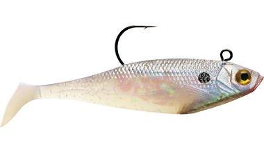 Storm WildEye Swim Shad 09 Fishing Lure Shiner Chartreuse Silver