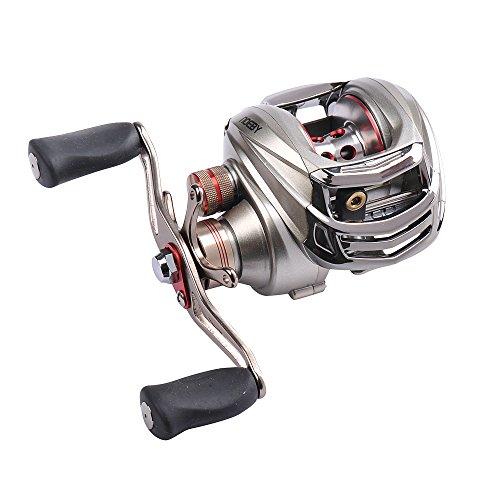 Noeby Baitcasting Fishing Reel 101 Ball Bearings Casting Reel RightLeft Handed Baitcast Fishing Reel Baitcaster