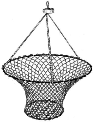 Wright McGill Taitex Deep Water Crab Net Heavy Duty wFloat Md RN816