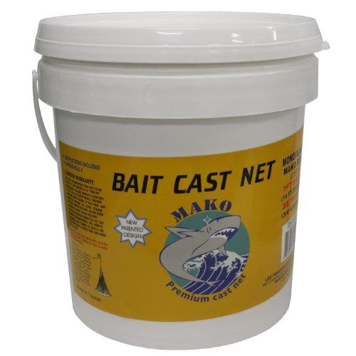 Mako Bait Cast Net 38 Square Mesh 35 Ft CBT-S305