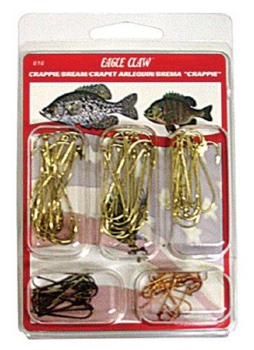 Eagle Claw CrappieBream Assortment Hook 80 Piece