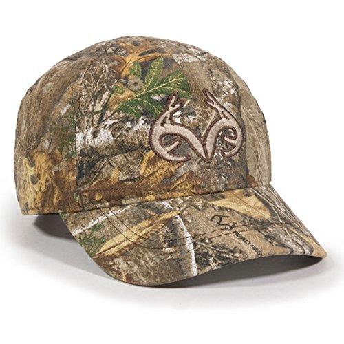 Toddler Realtree Edge Camo Buck Horn Kids Hunting Hat  Cap