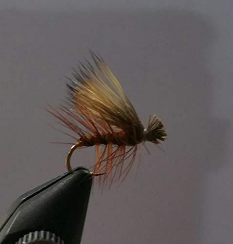 1 Dzn - Brown Elk Hair Caddis - Dry Fly Trout