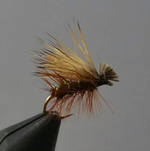 1 Dzn - Peacock Elk Hair Caddis - Dry Fly Trout