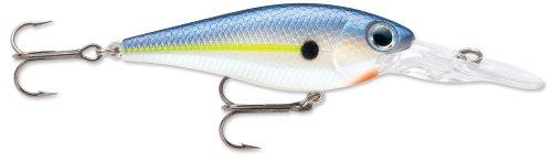 Storm Smash Shad 7 Fishing Lure Hot Blue Shad 2-34-Inch