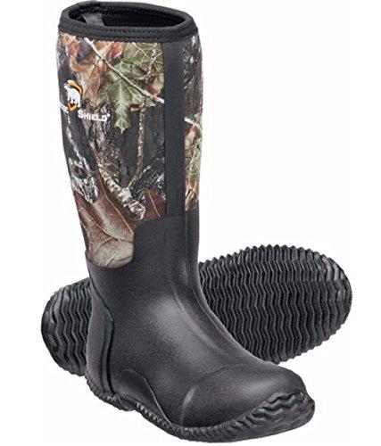 Arctic Shield Waterproof Durable Rubber Neoprene Outdoor Boots 8 Camouflauge