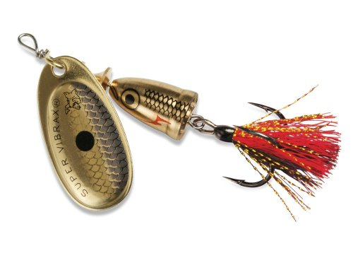 Blue Fox Classic Vibrax 02 Foxtail Tackle Golden Shiner 316
