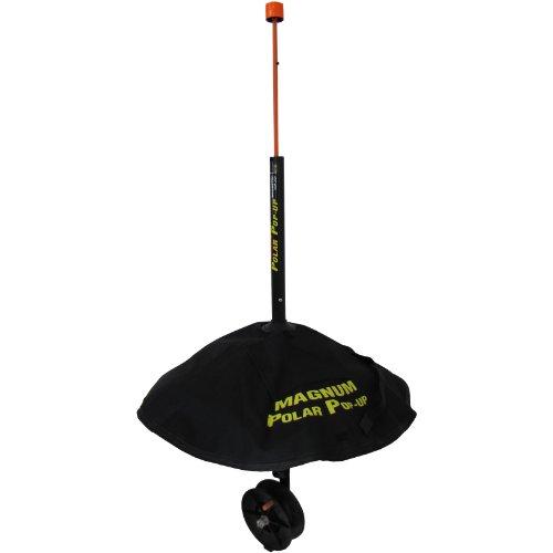 HT Enterprise PPM-1500 Polar Pop Up Magnum Tip Up 1500-Feet Spool Black