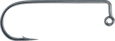 Gamakatsu 90 Degree Round Bend Heavy Wire Jig Hook-Pack Of 25 Black 20