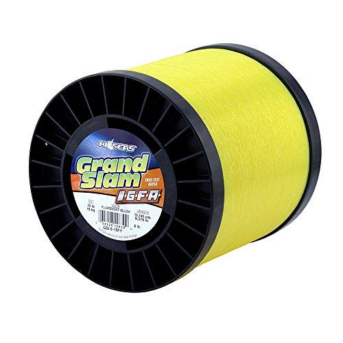 HI-SEAS Mens Grand Slam IGFA Mono Line Class 15 30 lb 15 kg Test 020 in 052 mm Diam Fluoro Yellow 1 lb2028 yd 1855 m