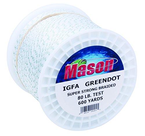 Mason 6GD-80 IGFA Green Dot Line