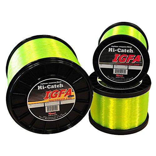 Momoi IGFA Generation III Monofilament Line - 2 lb Spool - 80 lb - 1320 yd - Hi-Vis Yellow