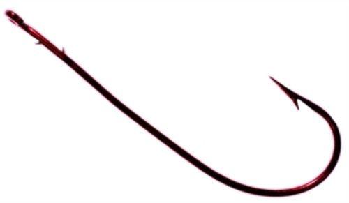 Tru Turn Worm Hook 2O Blood Red