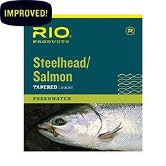 Rio SteelheadSalmon Leader 9ft 12lb 3 Pack