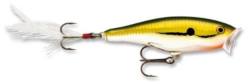Rapala Skitter Pop 05 Fishing lure 2-Inch Gold Chrome