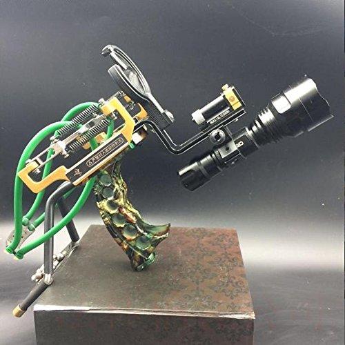 HBG New Archery Arrows Slingshot Set Hunting Laser High Velocity Catapult Slingshots Outdoor Bow Fishing Slingshots