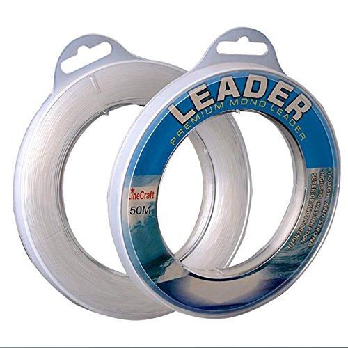 LINEXPERT Nylon Monofilament Leader Line Fishing 100M 70LB