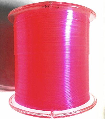 LineThink Super Nylon Monofilament Fishing Line 500M Pink 77LB023mm