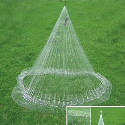 Running Water Nylon Monofilament Cast Nets 12 feet - 38