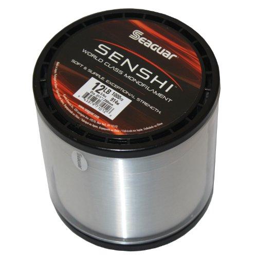 Seaguar Senshi Nylon 1000-Yards ClearFluorescent Monofilament Line 8 -Pounds