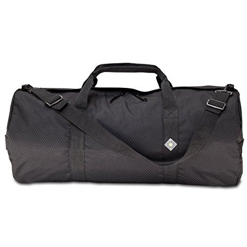 Northstar SD 1430 Diamond Ripstop Series Gear and Duffle Bag 14 x 30-Inch Midnight Black