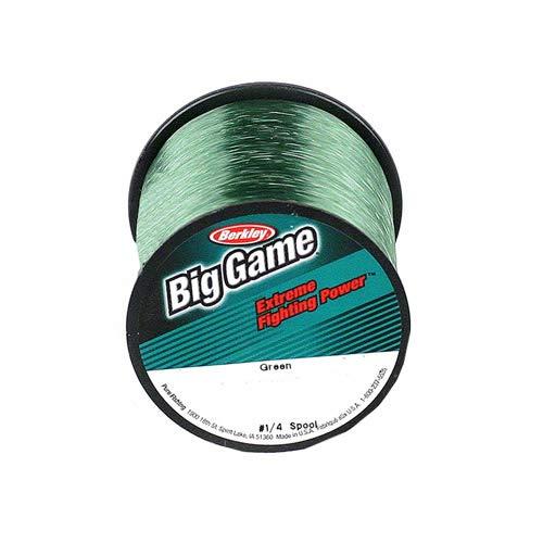 Berkley Trilene Big Game Monofilament Fishing Line Green 595 Yd25-Lb Test