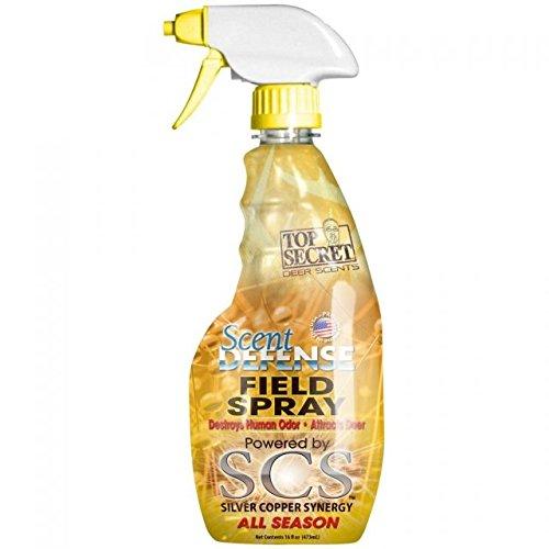 Top Secret Deer Scent Defense Field Spray Yellow 16 oz