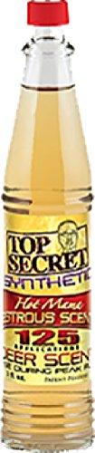 Top Secret Deer Scent Hot Mama Synthetic Scent Yellow 3 oz