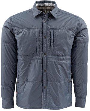 Simms Confluence Reversible Buttondown Jacket - Nightfall - Large