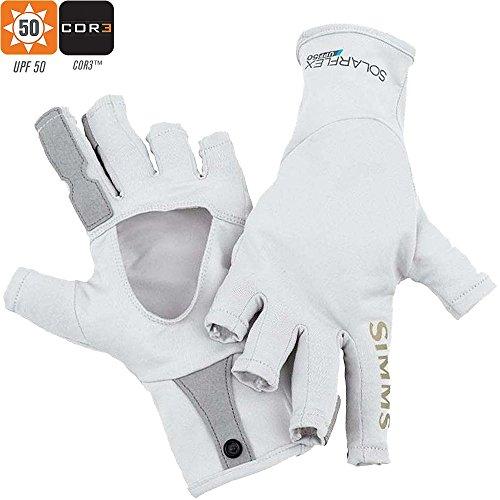 Simms Solarflex SunGloves - Gray - XL