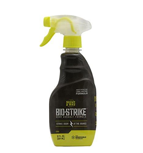 Scent-A-Way 07901-1 Bio-Strike Scent Control Spray 12 oz Grey
