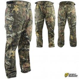 Scent Blocker Mens Ripstop 6 Pocket Pants Medium Mossy Oak Infinity Camo
