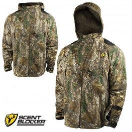 ScentBlocker Alpha Jacket with Windbrake Real Tree Xtra Large