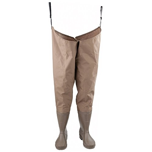 Hodgman PVCNylon Hip Wader Cleated Sole Size 12