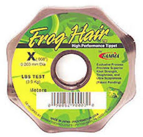 Frog Hair 8x Tippet Spool
