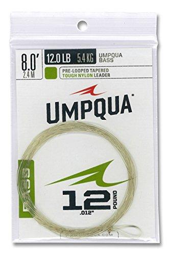 Umpqua Fly Fishing Bass Taper 8 12 Lb Leader Nylon