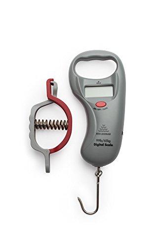 ReelSonar Digital Fish Scale Tape Measure 99lb45kg and Fish Lip Gripper
