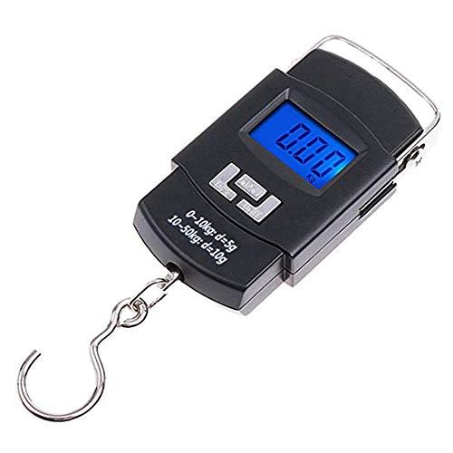 WLIXZ Portable Fishing Scale Backlit LCD Screen Electronic Balance Digital Fish Hook Hanging Scale 110lb50kg