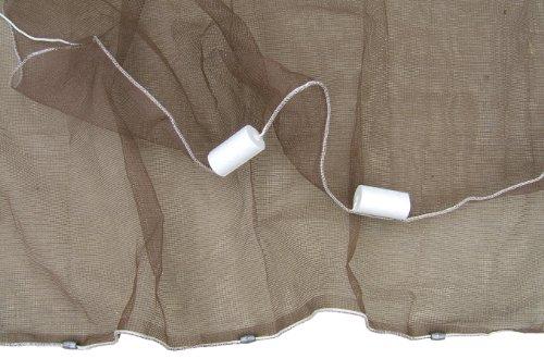 Ranger 18-Inch Mesh Minnow Seine Net 4-Feet x 4-Feet
