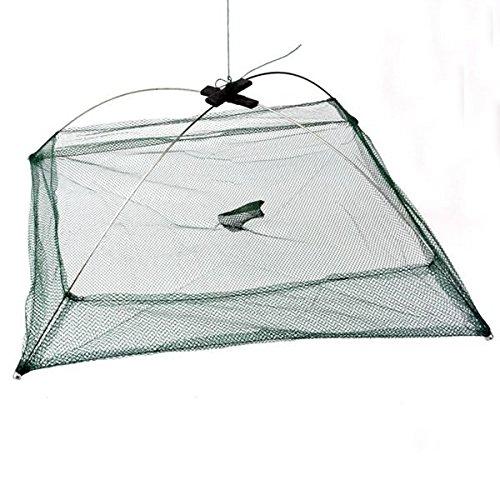 Foldable Fishing Trap Baits Cast Crab Minnow Crawdad Shrimp Dip Net