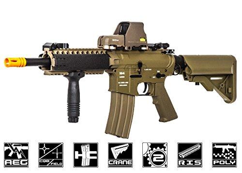 Classic Army CA4A1 EC1 M4 RIS CQB Carbine AEG Airsoft Gun Flat Dark Earth
