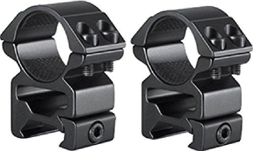 Hawke Sport Optics 2pc Match Series Weaver Scope Rings 1in High QuickPeep HM7103