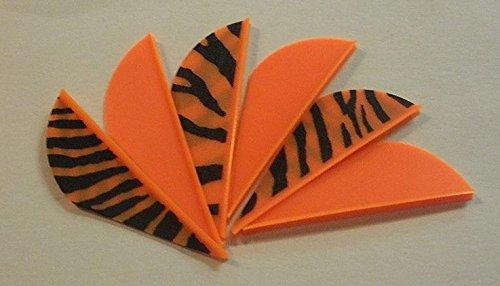 Blazer Arrow Vanes Bohning 2 Combo Neon OrangeOrange Tiger Pkg100