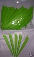 Duravane Plastic Arrow Vanes 4 Flo Green Pkg100