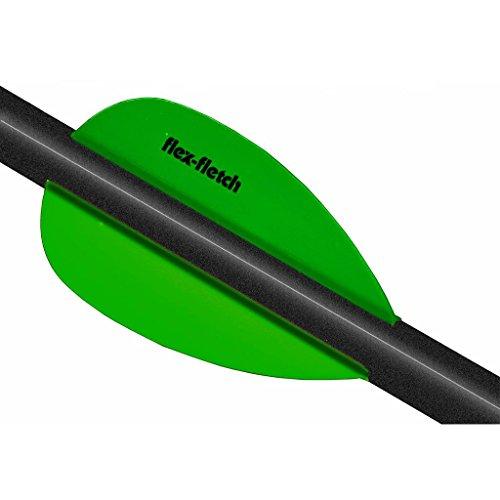 Flex Fletch Flash Flo Green 2 in 36 pk