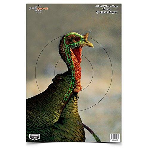 Birchwood Casey 35403 Pre Game Turkey 12 x 18 Target 8-Pack