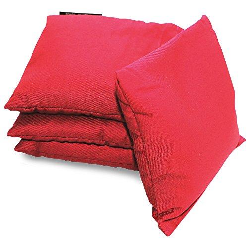 Driveway Games All Weather Cornhole Bean Bag Set 4 Waterproof Regulation Corn Toss Bags