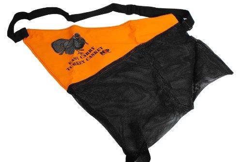 NEP Outdoors Turkey Casket Game Bag 10 x 3-Inch OrangeBlack