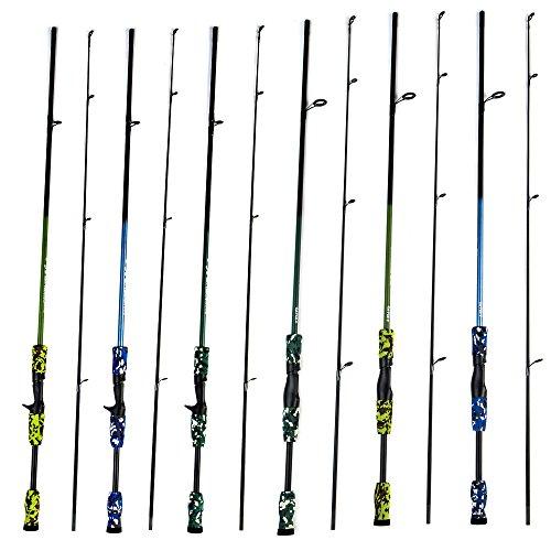 CATCHU Fishing Rod Carbon Casting Fishing Pole Sea Saltwater Freshwater Fishing Rod17MRod Power MLine Weight 6-15lbWeight 105gLure Weight 18-34oz