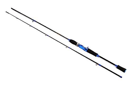 GTG Baitcasting Rod 2 piece Casting Fishing Rod Medium Heavy Surf Casting Rod 21M69ft